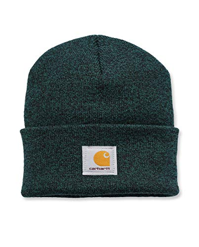 Carhartt - Acrylic Watch cap - Verde/Nero Cappello Beanie A18 492 CHA18303GRNBLK-One Size