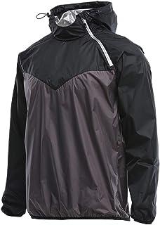 ESFHWYP Sports Clothing Men Gym Hoodie Running Jacket Men Fitness Shapewear Sports Jacket Man Jogging Sweat Body Shaper