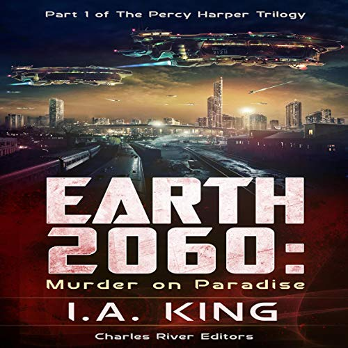 Earth 2060: Murder on Paradise audiobook cover art
