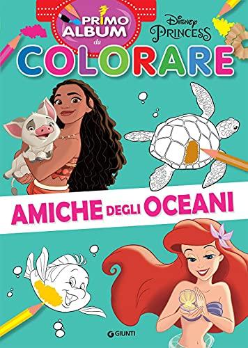Amiche degli oceani. Primo album da colorare. Ediz. a colori