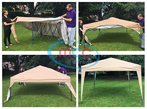 MCC - 2x2m Pop-up Gazebo Waterproof Outdoor Garden Marquee Canopy (NS)