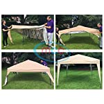 MCC - 2x2m Pop-up Gazebo Waterproof Outdoor Garden Marquee Canopy[Black* Blue* Beige* Green*] (NS) (Green)