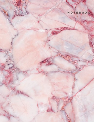 Notebook: Pink Marble Notebook-Large Dotted Notebook Dot Grid Notebook 8.5 x 11, A4 notebook journal, Dairy, 120 pages-Pink Marble Composition Notebook v.1