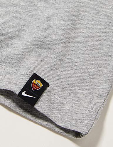 Nike Boys' ROMA B NK TEE TR GROUND T-Shirt, dk Grey Heather, M