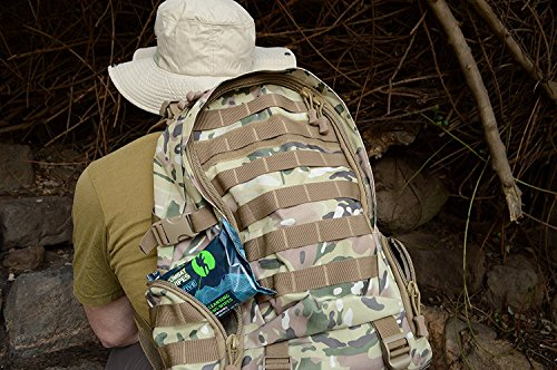 Combat Wipes Active Outdoor Wet Wipes | Extra Thick, Ultralight, Biodegradable, Body & Hand Cleansing/Refreshing Wet…