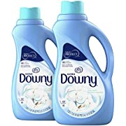 Downy Ultra Cool Cotton Liquid Fabric Conditioner (Fabric Softener), 2 count, 51 fl oz each
