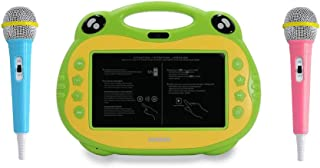 ATOUCH P06 Karaoke Video Learning Tablet With Mic,16GB, 7 Inch 4G (Green)