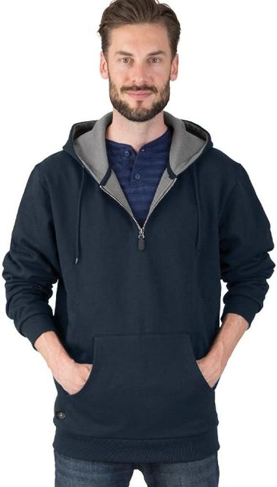 Charles River Apparel Men's Tradesman Thermal Quarter Zip Sweatshirt (Reg & Ext Sizes)