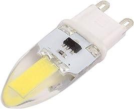 X-DREE AC 220V 6W COB LED Corn Light Bulb Silicone Lamp Dimmable G9 2P 1505 Cool White (6e082a11-a222-11e9-8d7c-4cedfbbbda4e)