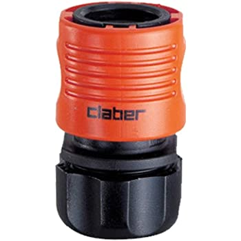 Claber Two Way Male Hose Connector for Quick Click Couplings Fits Hozelock 8613