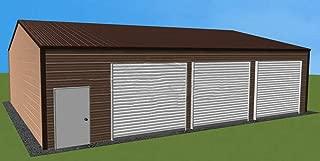 WZH Metal car Canopy/Garage/Shelter/Steel carport/Size: L: 12m W:6m H:3.6m