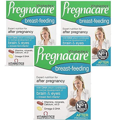 (3 PACK) - Vitabiotics Pregnacare Breastfeeding Tablets/Capsules   84s   3 PACK - SUPER SAVER - SAVE MONEY