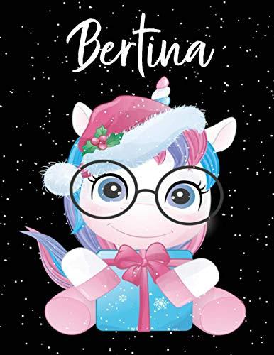 Bertina: Personalisiertes Skizzenbuch...