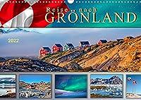 Reise nach Groenland (Wandkalender 2022 DIN A3 quer): Unterwegs in faszinierender Natur. (Monatskalender, 14 Seiten )