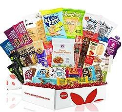 Deluxe Vegan Certified Protein Snacks Box