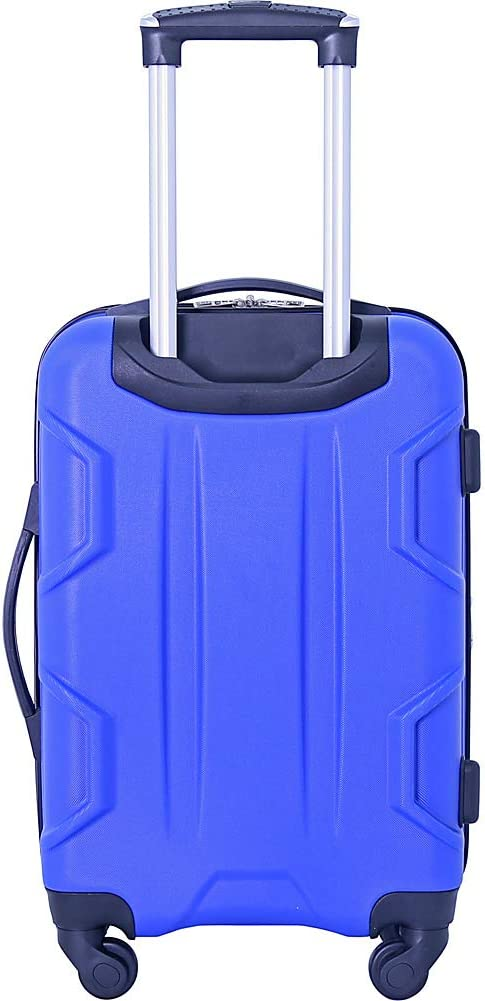 Blue Luggage Set 2 PC Pieces Travelers Club Luggage Camden 2pc 28// 20 Abs Exp.Spinner