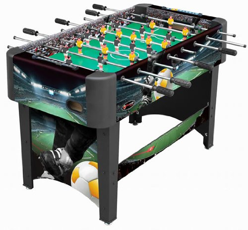 Playcraft Sport - 48 Inch Foosball Table, Black