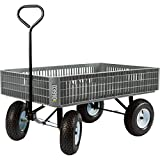Farm Tuff Crate Garden Wagon - 800-Lb. Capacity, 46in.L x 30in.W, Model Number 03910