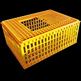 RITE FARM PRODUCTS H.D. 29x21x12 POULTRY TRANSPORT 4H SHOW CAGE COOP BASKET CHICKEN CRATE