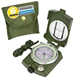 High strength engineering metal body, rugged and capable of working under extreme weather condition Waterproof and shakeproof, suitable for motoring, boating, camping,Hiking,mountaineering, exploring, hunting and other outdoor activities.DIMENSIONS-8...