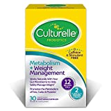 Culturelle Healthy Metabolism + Weight Management Probiotic Supplement, Helps Safely Manage Weight, Stimulant Free, 30 Count