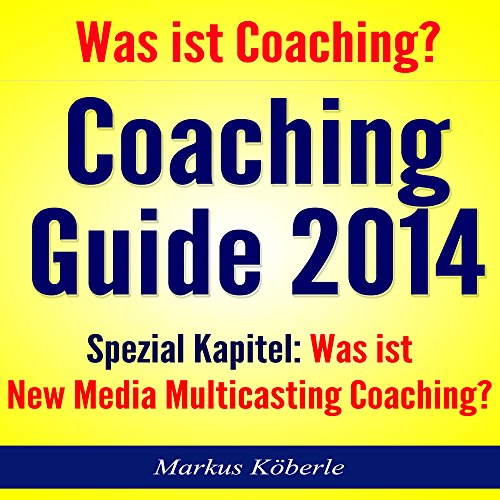 Coaching Guide 2014 Titelbild
