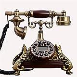 HKX Teléfono Fijo con Cable, teléfono con Botones Grandes, teléfonos fijos Europa...