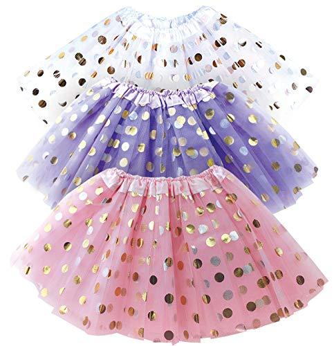 Polka Dot Tutu for Toddler Girls