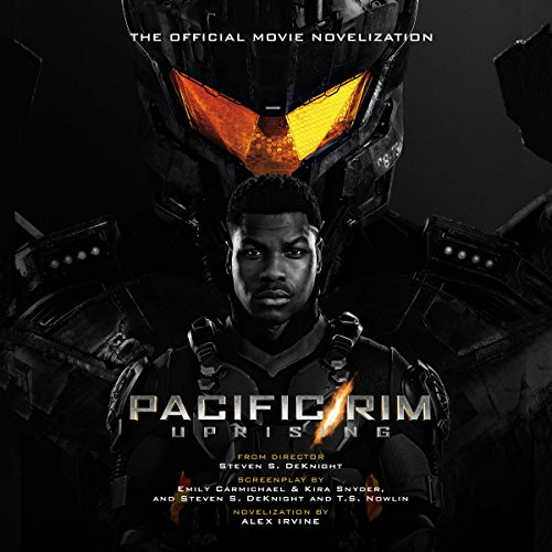 Pacific Rim Uprising audiobook cover art