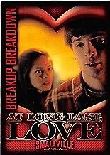 Lana Lang and Clark Kent in love trading card Smallville #32 Kristin Kreuk Tom Welling Superman