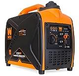 WEN 56125i Super Quiet 1250-Watt Portable Inverter Generator, CARB Compliant