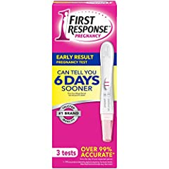 Our #1 best-selling pregnancy test [4] The ONLY brand that can tell you 6 DAYS sooner than your missed period [1] Over 99% accurate from the day of your expected period [2] Detects all forms of the pregnancy hormone [5] Read your result in just 3 min...