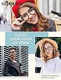 Zoom IMG-1 gqueen occhiali fashion filtro luce
