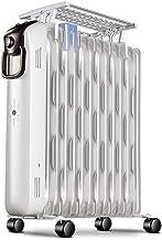 2200W Extraíble Calentador De Aceite, No Hay Luz Y Sin Ruido Dumping Radiador Eléctrico, Frente Anti-Hierro Cubierta Y De La Manija Integrada, Conveniente For 25-30 Metros Cuadrados