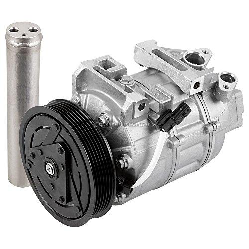 AC Compressor w/A/C Drier For Nissan Altima 2.5L 4-Cyl 2007 2008 2009 2010 2011 2012 - BuyAutoParts 60-88933R2 New