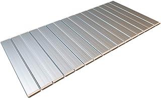 東プレ 折りたたみ 風呂ふた 抗菌 Ag+ メタリックグレー 75×159cm 日本製 L16