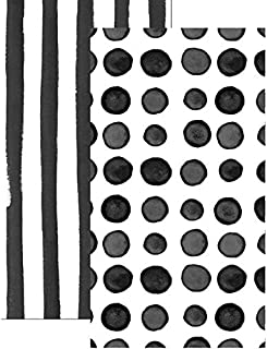 Paper Hand Towels Guest Towels Bathroom Accessories 2-Sided Design Licorice 8x4