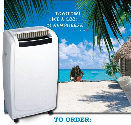 Toyotomi TAD-T40LW 14000 BTU Portable Air Conditioner with Heat Pump
