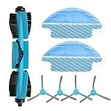 WDGNY Accesorios de limpieza Cepillo de rodillos cepillos laterales para Cecotec Conga 3090 Aspiradora Accesorios Suave Textura Bueno para el Piso Superficie Kit de cepillo