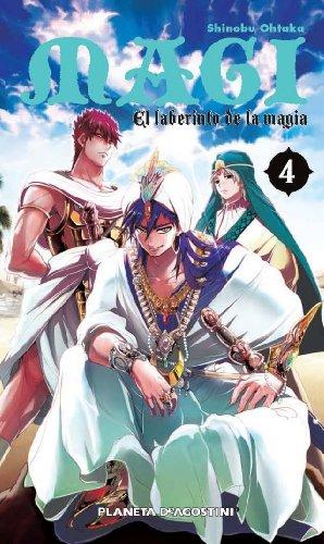 Magi El laberinto de la magia nº 04/37 (Manga Shonen)