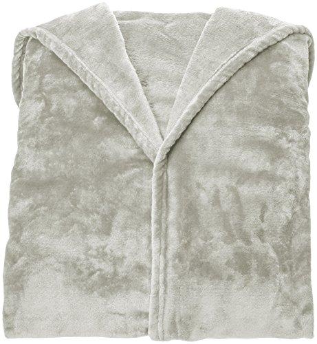 Couverture polaire avec manches et poche pour les pieds