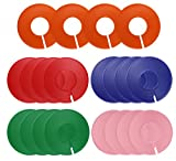 DreamTop separadores 20pcs tamaño de ropa accesorio de divisores en blanco...