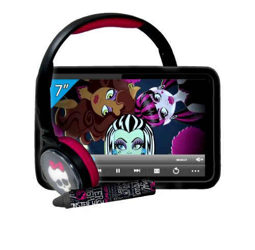 Ingo Monster High - Super Pack 7 (Incluye Tablet de 7', Funda, Auriculares, lápiz Digital) Devices MHU014D
