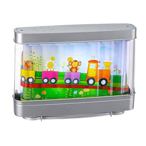 Design Tisch Lampe Kinder Zimmer Leuchte Eisenbahn Tiere Laufbild Leuchten Direkt 85114-70