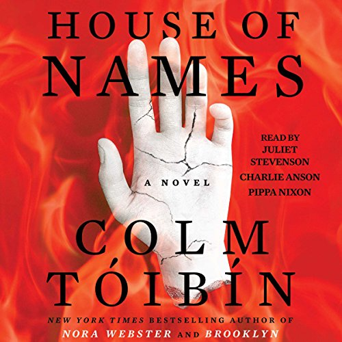House of Names audiobook cover art