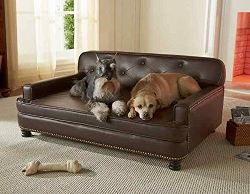 Enchanted Home Pet Library Sofa Dog Bed