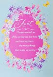 Happy Easter Aunt Greeting Card - Wishing You Your Favorite Joys, Your Brightest Moments Ever