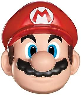 Disguise Men's Nintendo Super Mario Bros.Mario Adult Mask Costume Accessory