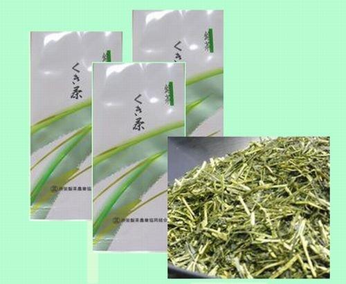 【Pick up!】 深蒸し茶 静岡茶 「くき茶」 100g お得3袋セット300g メール便