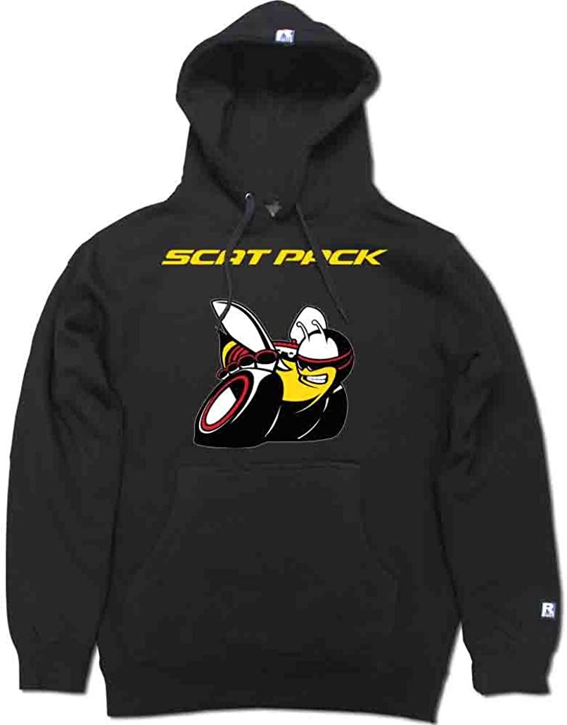 FTD Apparel R Built Men's Scat Pack Bee Pullover Hooded Sweater